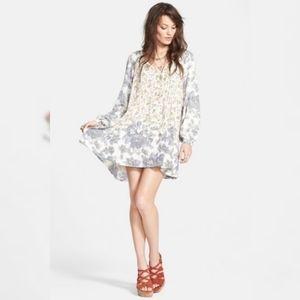 Free People Luckie Loosie Swing Floral Boho Dress